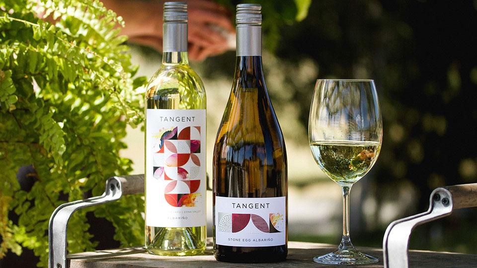 Tangent Albarino in SLO Coast Wine Region